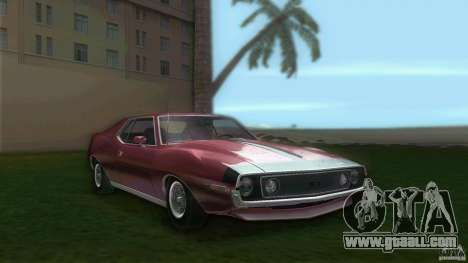 AMC Javelin 1971 for GTA Vice City