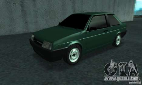 VAZ 21099 Coupe for GTA San Andreas left view