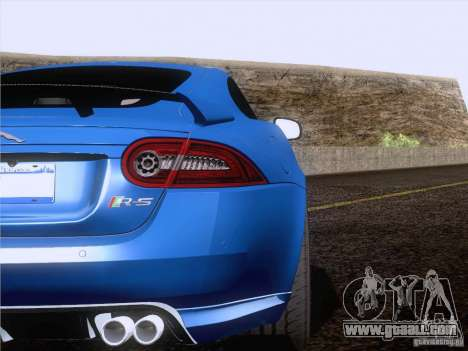 Jaguar XKR-S 2011 V2.0 for GTA San Andreas side view