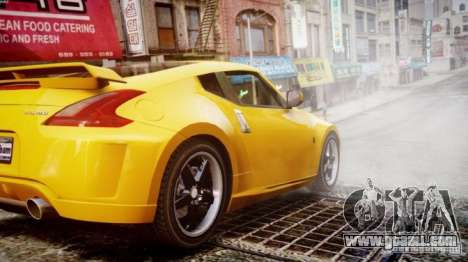 Nissan 370Z Final for GTA 4 left view
