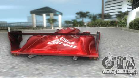 Toyota GT-One TS020 for GTA Vice City left view