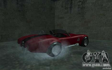 Shelby Cobra 427 for GTA San Andreas left view