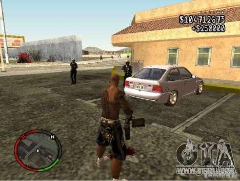GTA IV HUD v1 by shama123 for GTA San Andreas forth screenshot
