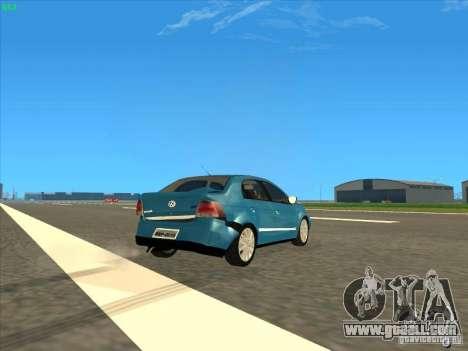 Volkswagen Voyage Comfortline 1.6 2009 for GTA San Andreas