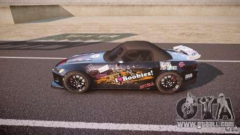 Honda S2000 Tuning 2002 Skin 1 for GTA 4 left view