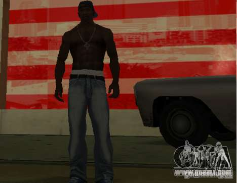 New jeans for CJ for GTA San Andreas third screenshot