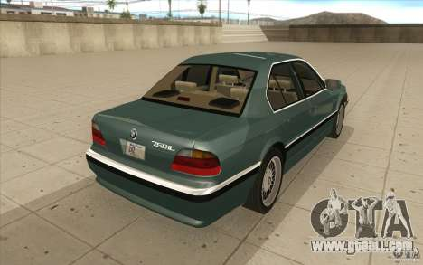 BMW 750iL 1995 for GTA San Andreas side view