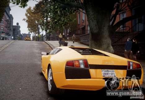 Lamborghini Murcielago for GTA 4 right view