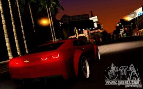 Chevrolet Camaro Tuning for GTA San Andreas right view