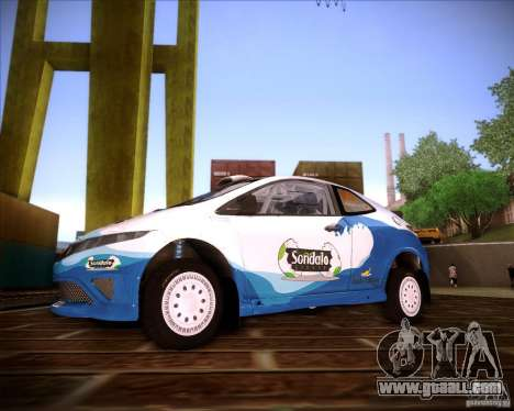Honda Civic Type-R (Rally team) for GTA San Andreas