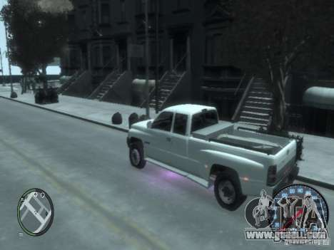 Dodge Ram 3500 for GTA 4 right view