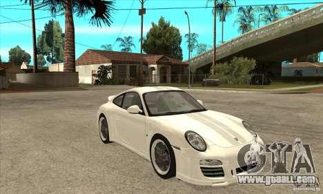 Porsche 911 Sport Classic for GTA San Andreas back view