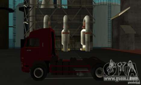 KAMAZ 5460 Skin 1 for GTA San Andreas back left view