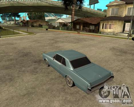 PONTIAC GTO 65 for GTA San Andreas left view