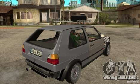 VW Golf Mk2 GTI for GTA San Andreas right view