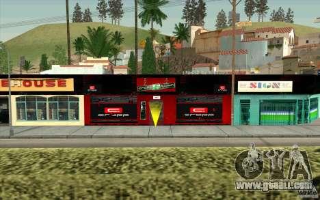Cropp Town SHOP for GTA San Andreas second screenshot