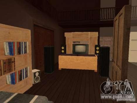 Villa in San Fierro for GTA San Andreas eighth screenshot