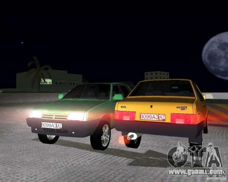 Vaz 21099 Light Tuned for GTA Vice City right view