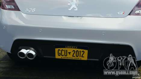 Peugeot 308 GTi 2011 v1.1 for GTA 4