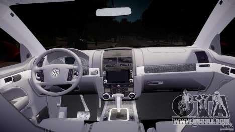 Volkswagen Touareg R50 2008 Tune (Beta) for GTA 4 right view