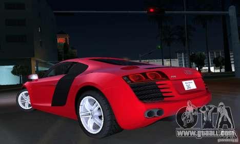 Audi R8 4.2 FSI for GTA San Andreas upper view