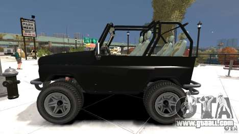 UAZ-3150 Varmint for GTA 4 left view