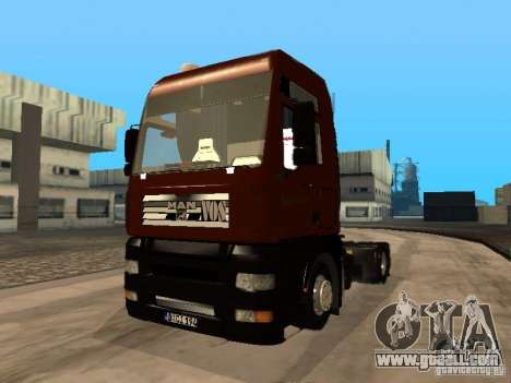 MAN TGA Vos Logistics for GTA San Andreas