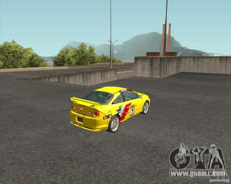 Chevrolet Cobalt SS for GTA San Andreas back left view