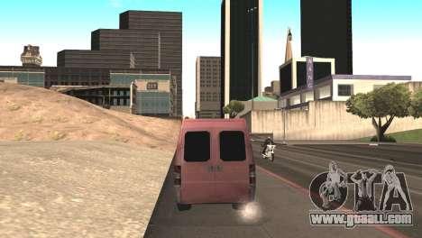 Peugeot Boxer for GTA San Andreas