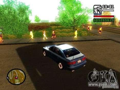 2008 Hyundai Sonata for GTA San Andreas back left view