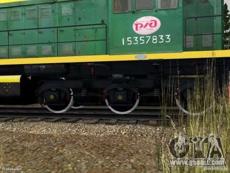 Tem2um-248 + Gondola freight company for GTA San Andreas right view