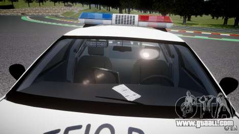 Ford Crown Victoria Karachi Traffic Police for GTA 4 bottom view