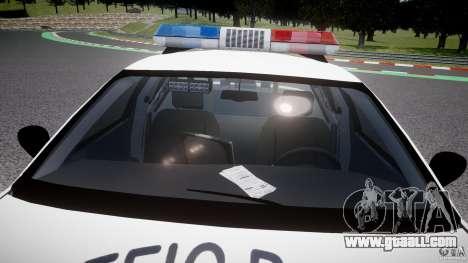 Ford Crown Victoria Karachi Traffic Police for GTA 4 bottom view