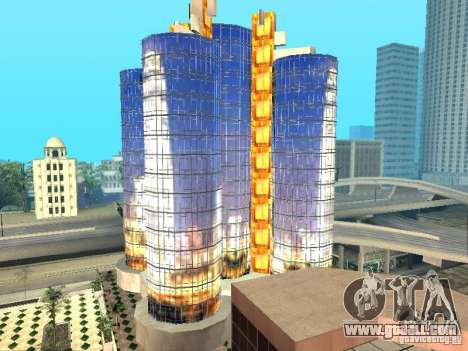 New texture of skyscraper for GTA San Andreas third screenshot