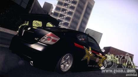 Scion TC Rockstar Team Drift for GTA San Andreas left view