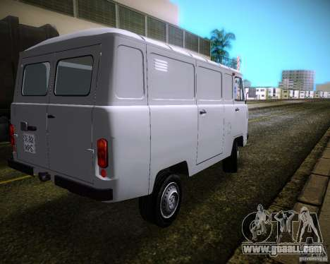 UAZ-3741 for GTA Vice City back left view
