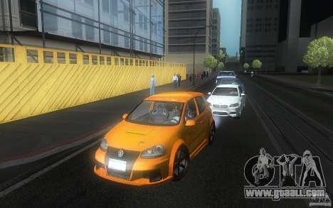 VolksWagen Golf GTI W12 TT Black Revel for GTA San Andreas side view