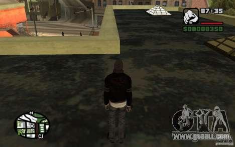 Alex Mercer v2.0 for GTA San Andreas forth screenshot