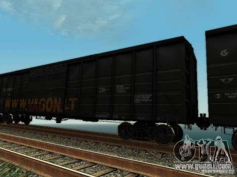 Boxcar for GTA San Andreas back left view