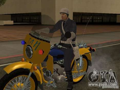 Police Of The USSR for GTA San Andreas