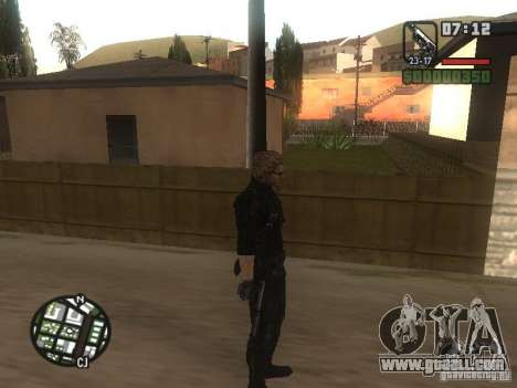 Wesker from RE5 for GTA San Andreas forth screenshot
