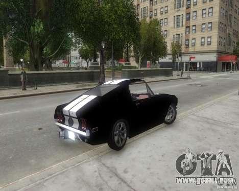 Ford Mustang Tokyo Drift for GTA 4 back left view
