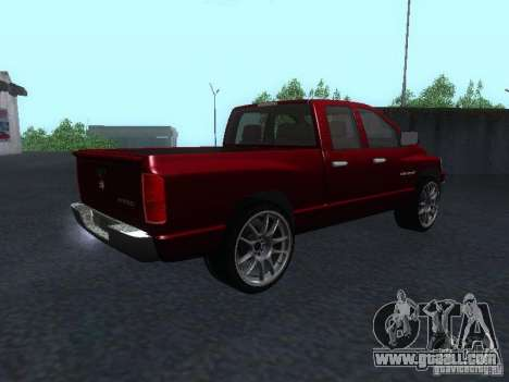 Dodge Ram 1500 v2 for GTA San Andreas left view