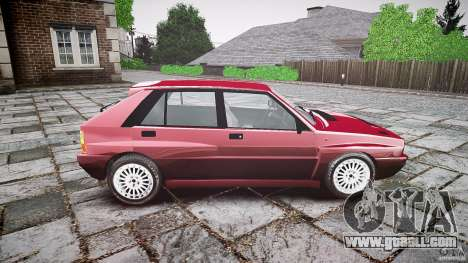 Lancia Delta HF Integrale Dealers Collection for GTA 4 back view