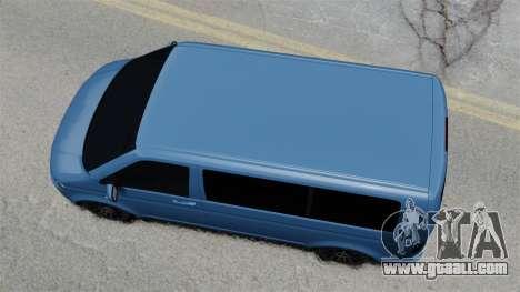 Volkswagen Transporter T5 2010 for GTA 4