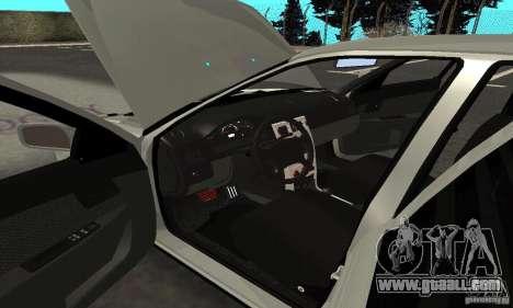 Lada Priora Hatchback for GTA San Andreas bottom view