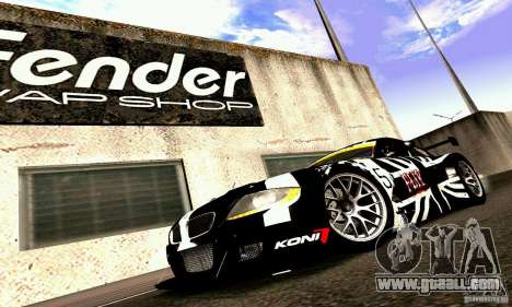 BMW Z4 E85 M GT 2008 V1.0 for GTA San Andreas wheels