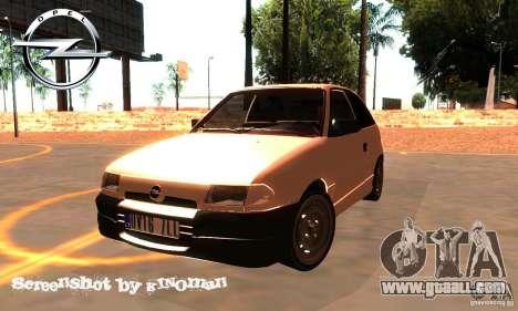 Opel Astra 1993 for GTA San Andreas