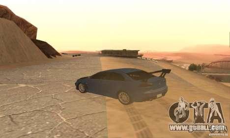 New Drift Zone for GTA San Andreas fifth screenshot