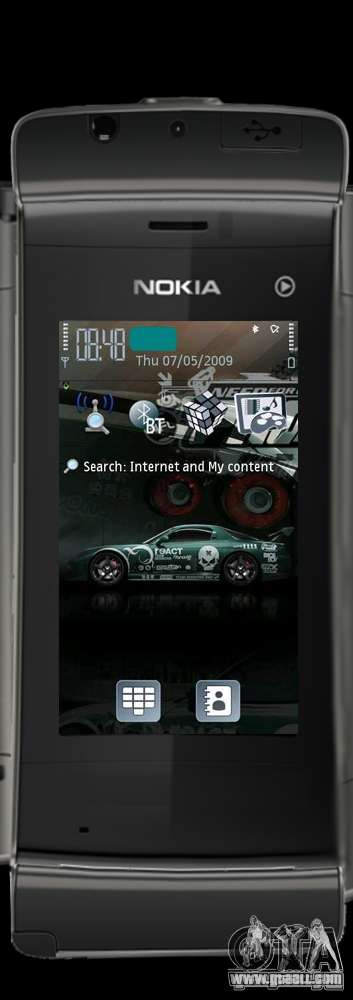 Nokia 5250 for GTA San Andreas